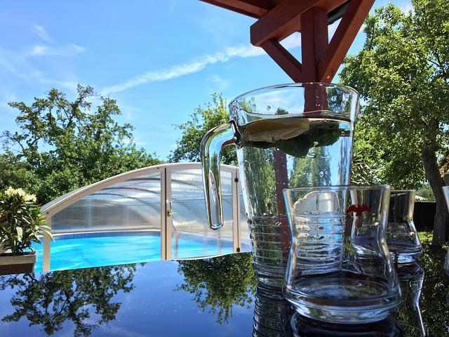 voda a bazén