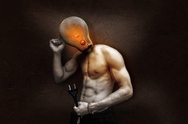 rozsvíceno v hlavě