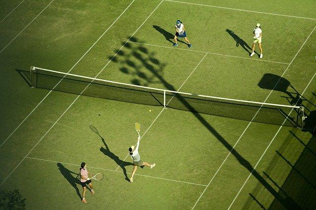tenisová čtyřhra