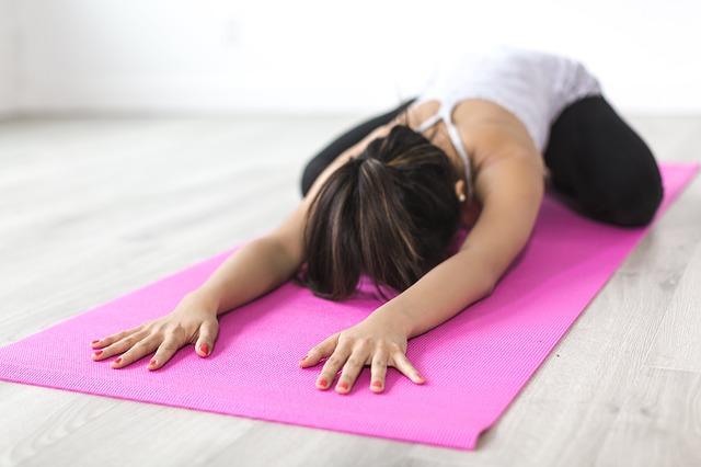 protahování svalů