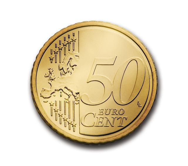 50 euro centů